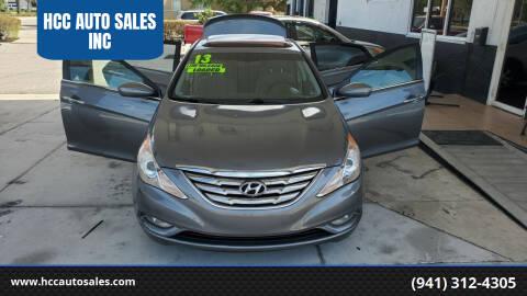 2013 Hyundai Sonata for sale at HCC AUTO SALES INC in Sarasota FL