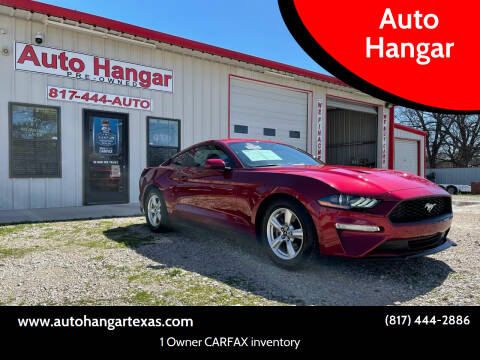 2018 Ford Mustang for sale at Auto Hangar in Azle TX