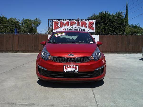 2017 Kia Rio for sale at Empire Auto Sales in Modesto CA
