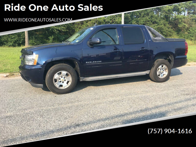 2010 Chevrolet Avalanche for sale at Ride One Auto Sales in Norfolk VA