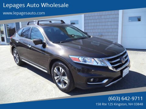 2013 Honda Crosstour for sale at Lepages Auto Wholesale in Kingston NH