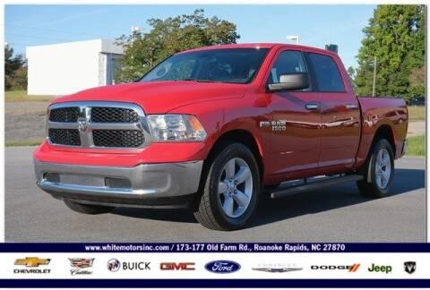 2018 RAM Ram Pickup 1500 for sale at WHITE MOTORS INC in Roanoke Rapids NC