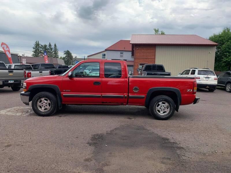 2002 Chevrolet Silverado 1500 for sale at WB Auto Sales LLC in Barnum MN