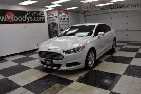 2015 Ford Fusion for sale at WOODY'S AUTOMOTIVE GROUP in Chillicothe MO