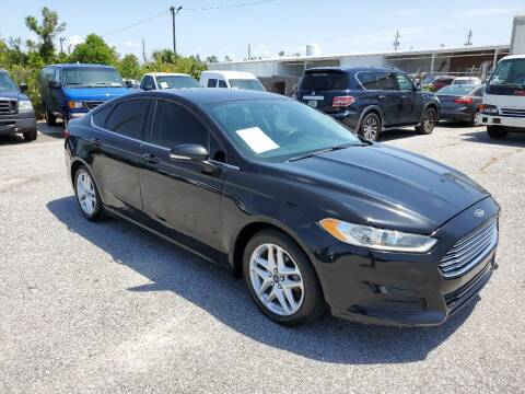 2014 Ford Fusion for sale at Jamrock Auto Sales of Panama City in Panama City FL