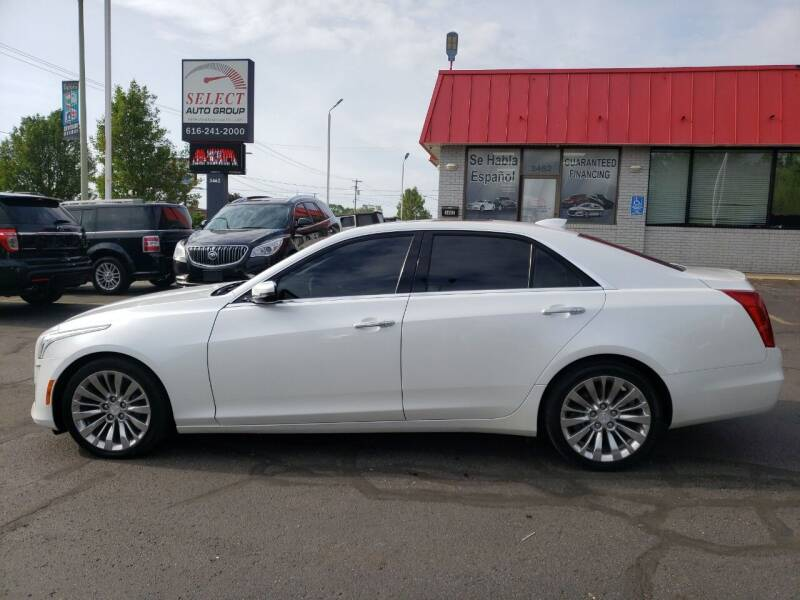 2015 Cadillac CTS for sale at Select Auto Group in Wyoming MI