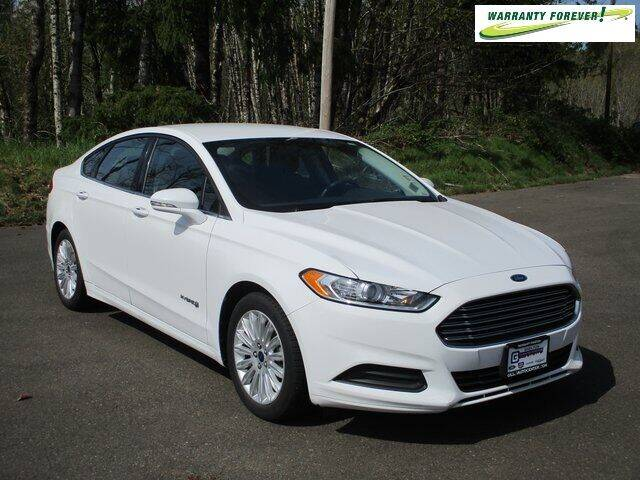 2016 Ford Fusion Hybrid for sale in Shelton, WA