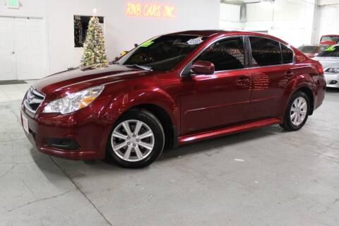 2012 Subaru Legacy for sale at R n B Cars Inc. in Denver CO