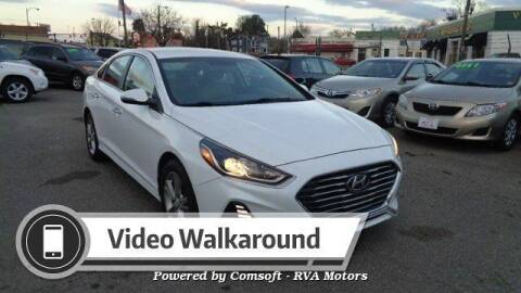 2018 Hyundai Sonata for sale at RVA MOTORS in Richmond VA