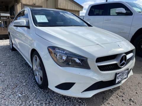 2016 Mercedes-Benz CLA for sale at BERKENKOTTER MOTORS in Brighton CO