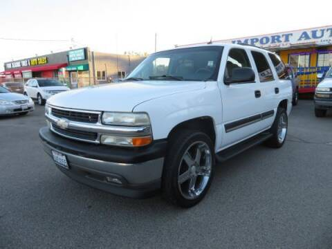 2005 Chevrolet Tahoe for sale at Import Auto World in Hayward CA