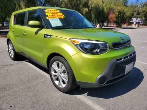 2015 Kia Soul for sale at ALL CREDIT AUTO SALES in San Jose CA