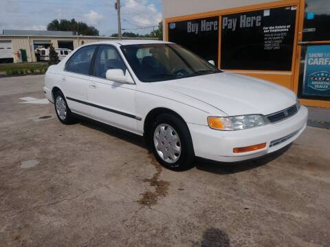 1996 Honda Accord for sale at QUALITY AUTO SALES OF FLORIDA in New Port Richey FL