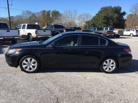 2008 Honda Accord for sale at TAVERN MOTORS in Laurens SC