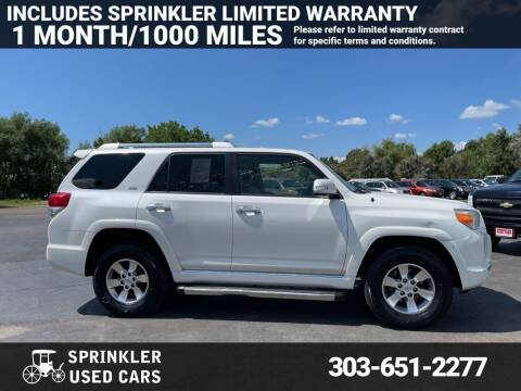 2013 Toyota 4Runner for sale at Sprinkler Used Cars in Longmont CO