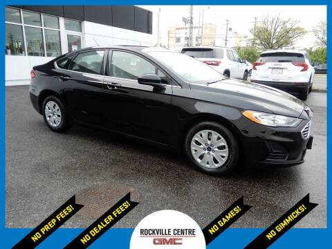 2019 Ford Fusion for sale at Rockville Centre GMC in Rockville Centre NY