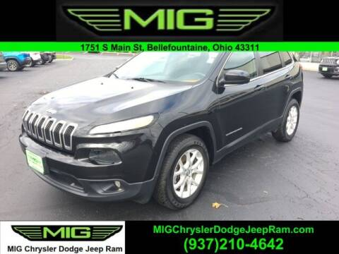 2015 Jeep Cherokee for sale at MIG Chrysler Dodge Jeep Ram in Bellefontaine OH