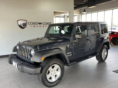 2018 Jeep Wrangler JK Unlimited for sale at Coast to Coast Imports in Fishers IN
