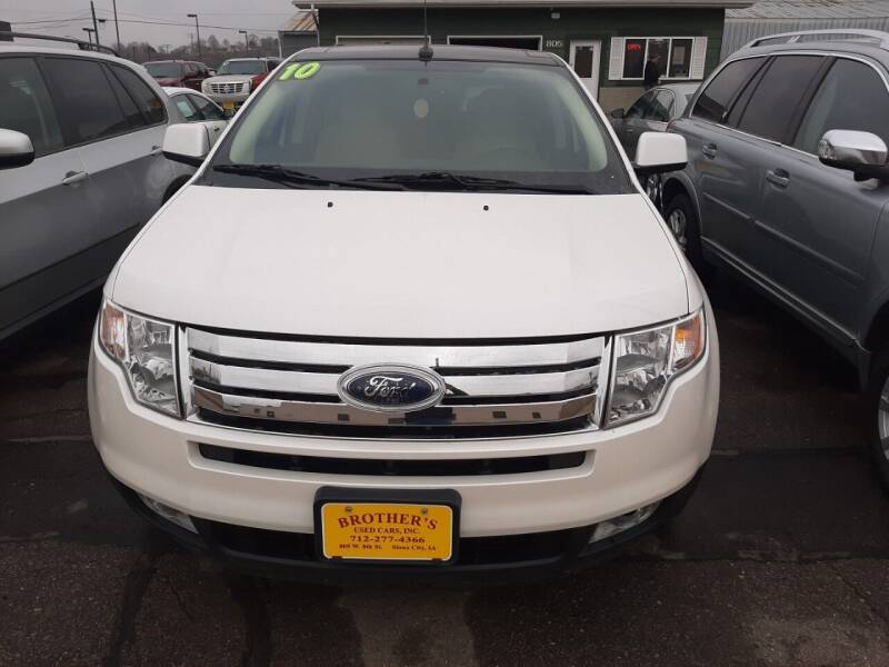 2010 Ford Edge for sale at Brothers Used Cars Inc in Sioux City IA