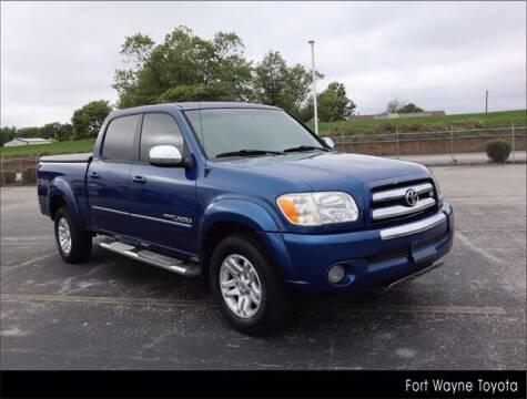 2006 Toyota Tundra for sale at BOB ROHRMAN FORT WAYNE TOYOTA in Fort Wayne IN