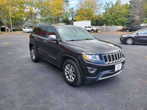 2015 Jeep Grand Cherokee for sale at Stach Auto in Edgerton WI