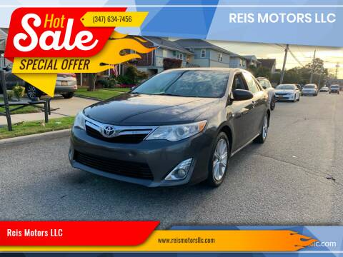 2012 Toyota Camry for sale at Reis Motors LLC in Lawrence NY
