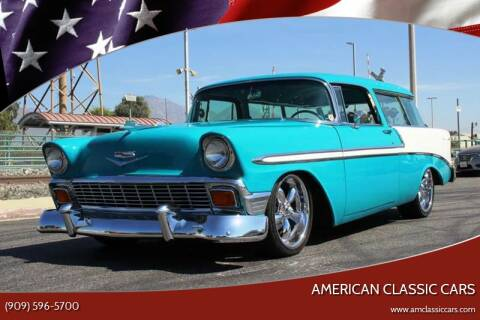 1956 Chevrolet Nomad for sale at American Classic Cars in La Verne CA
