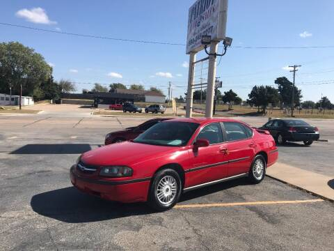 2004 Chevrolet Impala for sale at Patriot Auto Sales in Lawton OK