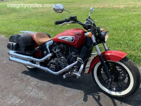 2016 Indian SCOUT SIXTY for sale at INTEGRITY CYCLES LLC in Columbus OH