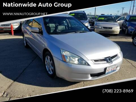 2004 Honda Accord for sale at Nationwide Auto Group in Melrose Park IL