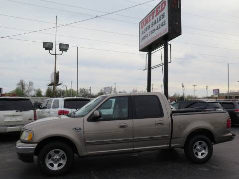 2003 Ford F-150 for sale at United Auto Sales in Oklahoma City OK