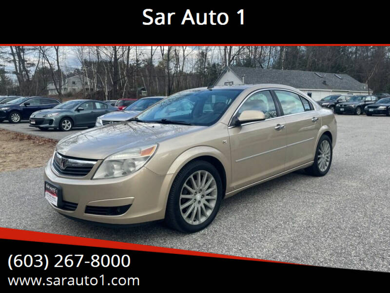 2008 Saturn Aura for sale at Sar Auto 1 in Belmont NH