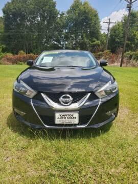2017 Nissan Maxima for sale at CAPITOL AUTO SALES LLC in Baton Rouge LA