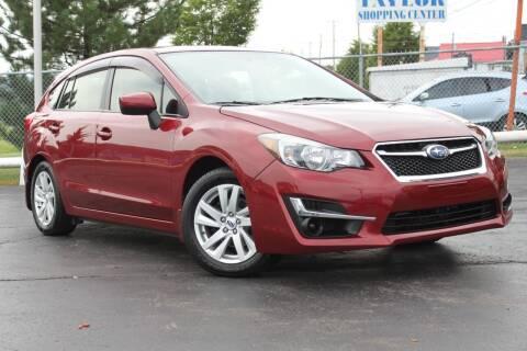 2015 Subaru Impreza for sale at Dan Paroby Auto Sales in Scranton PA