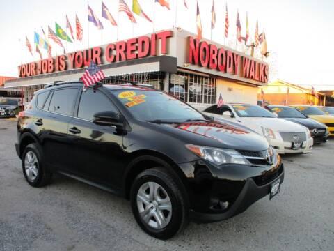 2014 Toyota RAV4 for sale at Giant Auto Mart 2 in Houston TX