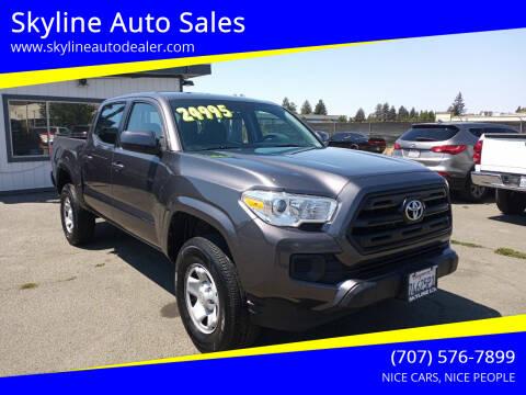 2017 Toyota Tacoma for sale at Skyline Auto Sales in Santa Rosa CA