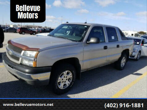 2004 Chevrolet Avalanche for sale at Bellevue Motors in Bellevue NE