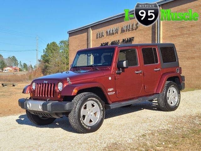 2010 Jeep Wrangler Unlimited for sale at I-95 Muscle in Hope Mills NC