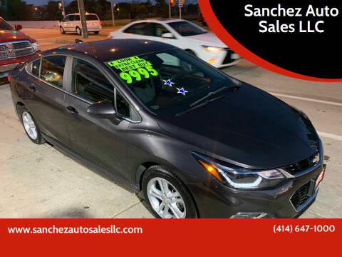 2017 Chevrolet Cruze for sale at Sanchez Auto Sales LLC in Milwaukee WI