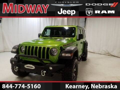 2018 Jeep Wrangler Unlimited for sale at MIDWAY CHRYSLER DODGE JEEP RAM in Kearney NE