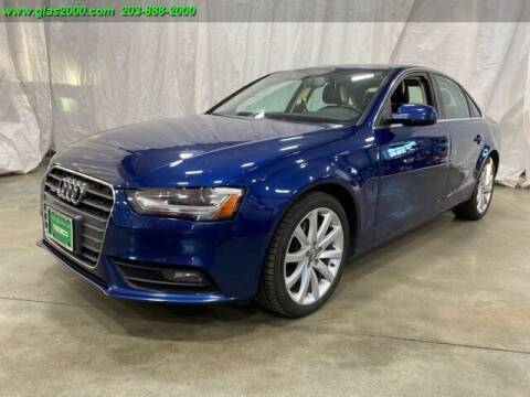 2013 Audi A4 for sale at Green Light Auto Sales LLC in Bethany CT