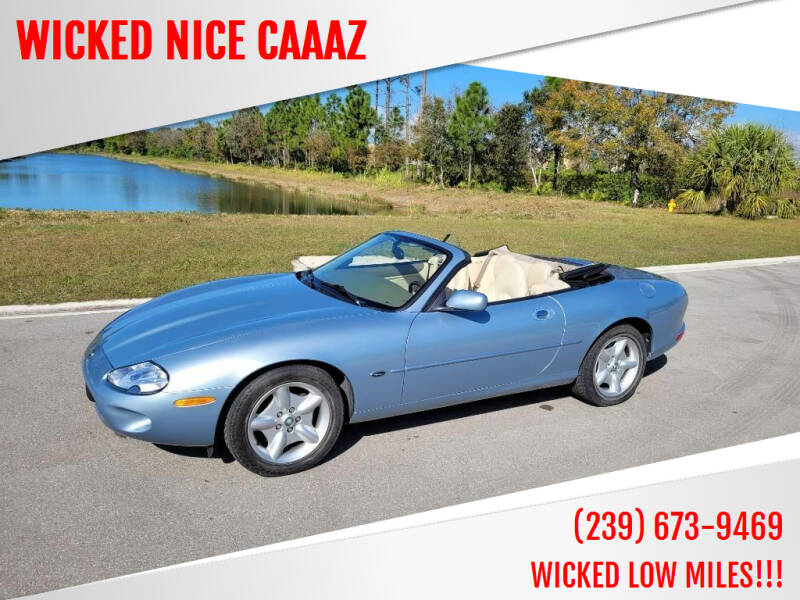 1997 Jaguar XK-Series for sale at WICKED NICE CAAAZ in Cape Coral FL
