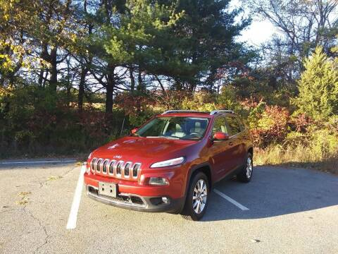 2014 Jeep Cherokee for sale at Westford Auto Sales in Westford MA