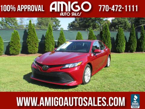 2019 Toyota Camry for sale at Amigo Auto Sales in Marietta GA