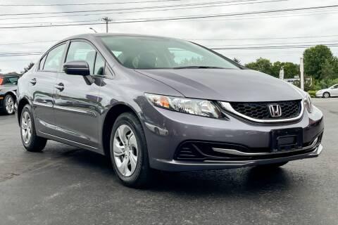 2014 Honda Civic for sale at Knighton's Auto Services INC in Albany NY