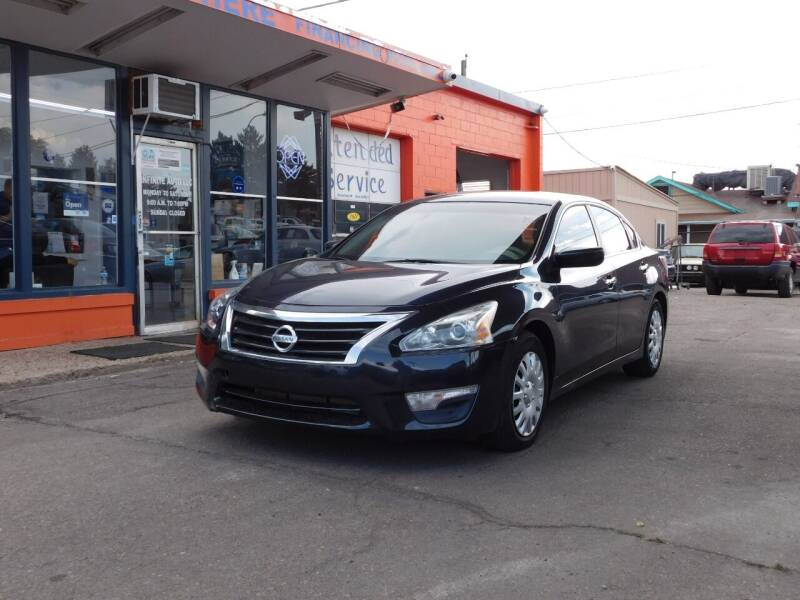 2015 Nissan Altima for sale at INFINITE AUTO LLC in Lakewood CO