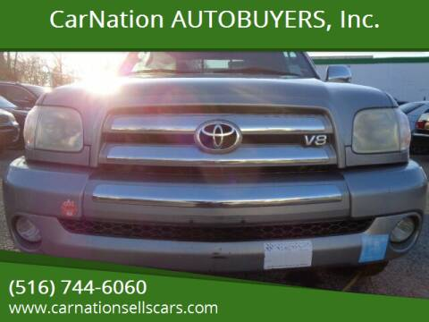 2005 Toyota Tundra for sale at CarNation AUTOBUYERS, Inc. in Rockville Centre NY