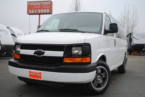 2007 Chevrolet Express Passenger for sale at Frontier Auto & RV Sales in Anchorage AK