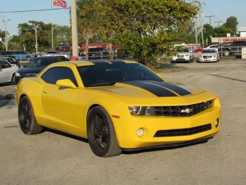 2012 Chevrolet Camaro for sale at United Auto Center in Davie FL