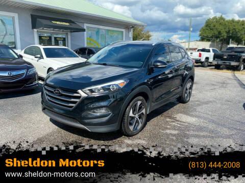 2016 Hyundai Tucson for sale at Sheldon Motors in Tampa FL
